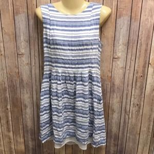 Vince Camuto summer striped dress